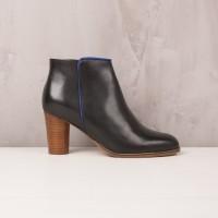 Boots À Talons : La Délurée - Noir Ébène