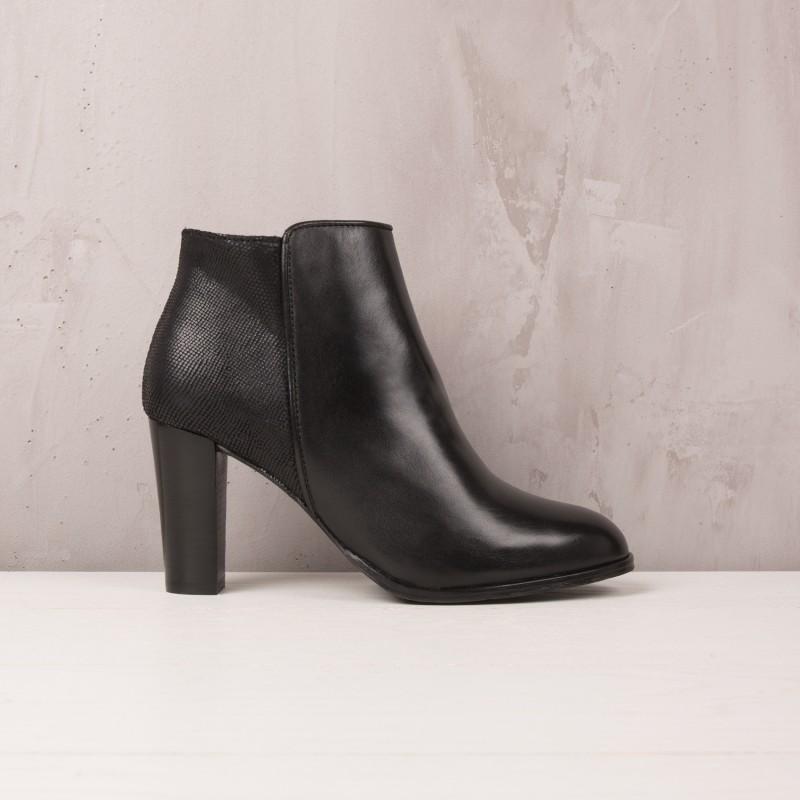 Boots À Talons : La Séductrice - Noir Ébène