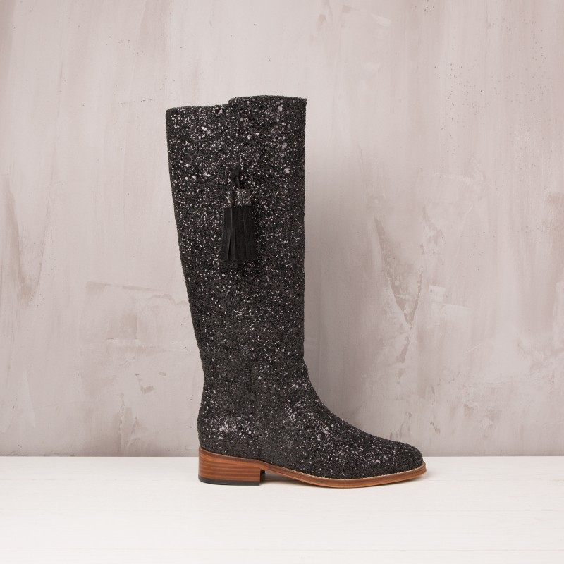 Knee Boots : La Dompteuse - Eclipse Black