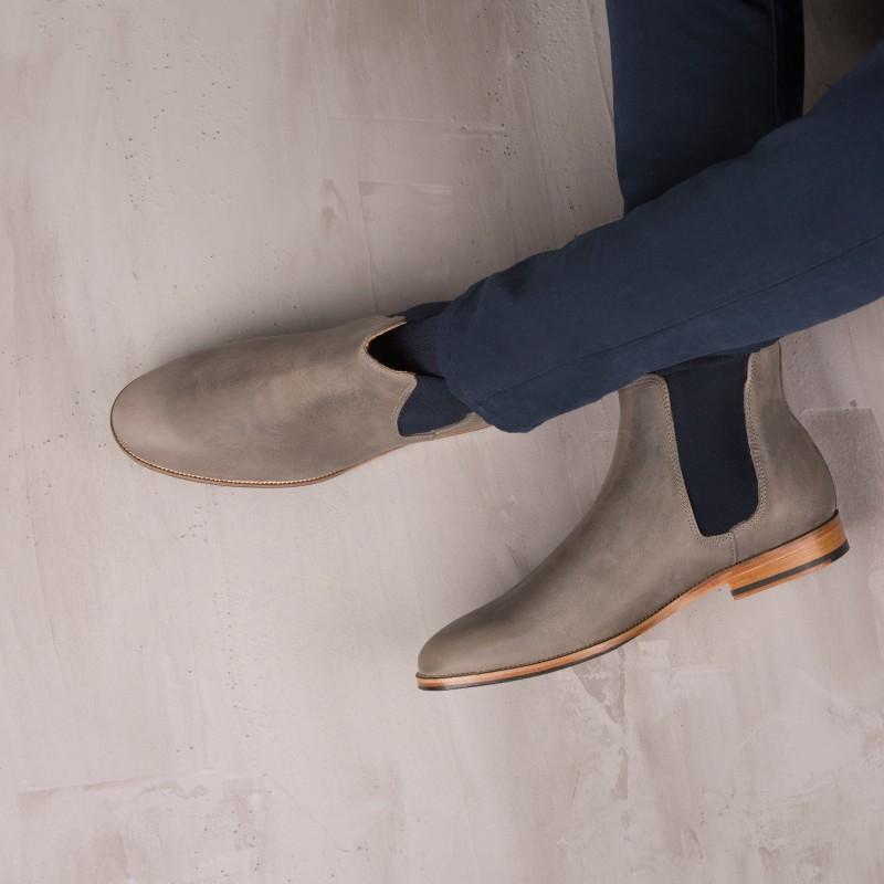 Boots À Élastique : L'Horloger - Gris Fuji