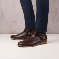 Boots À Élastique : Le Mélomane - Burgundy