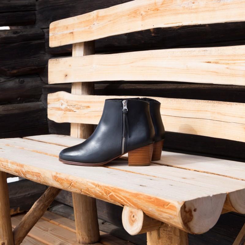 Boots À Talons : L'Imprévisible - Noir Ébène (F)