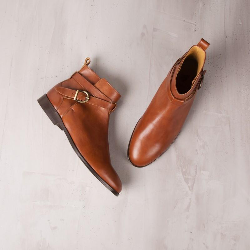 Desert & Chukka Boots : Le Bagarreur - Cognac