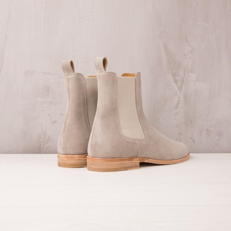 Chelsea Boots : Le Romanesque - Gris Nuage