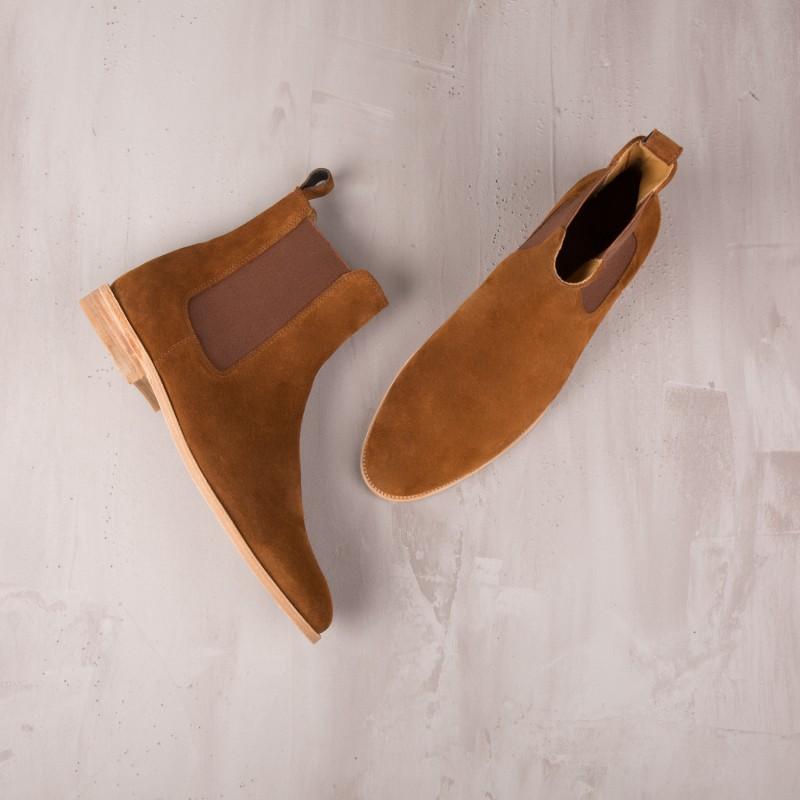 Chelsea Boots : Le Romanesque - Camel Brown