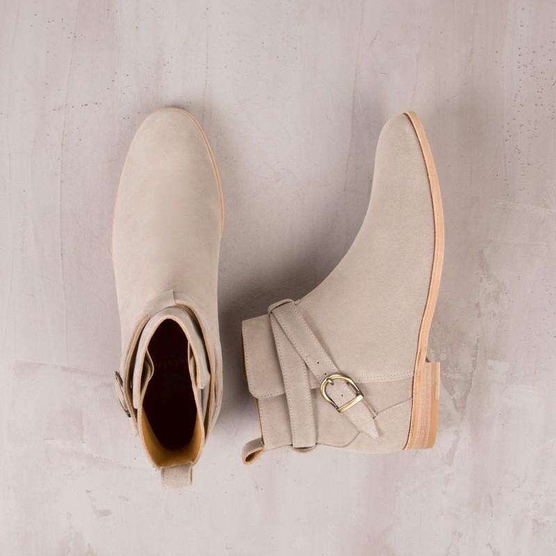 Desert & Chukka Boots : Le Bagarreur - Gris Nuage