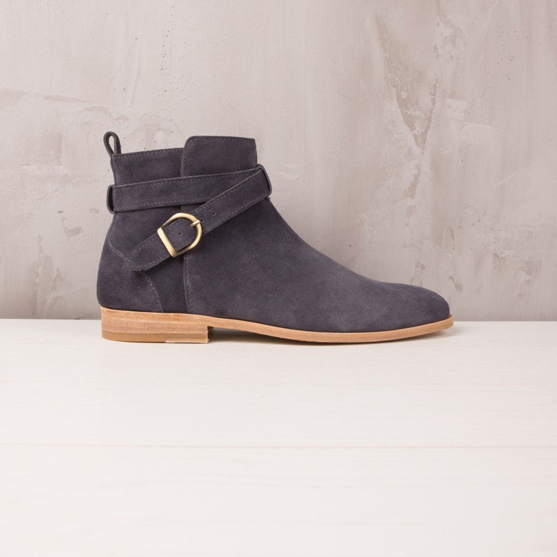 Desert & Chukka Boots : Le Bagarreur - Gris Anthracite