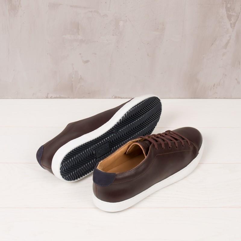 Sneakers : Le Baratineur - Burgundy