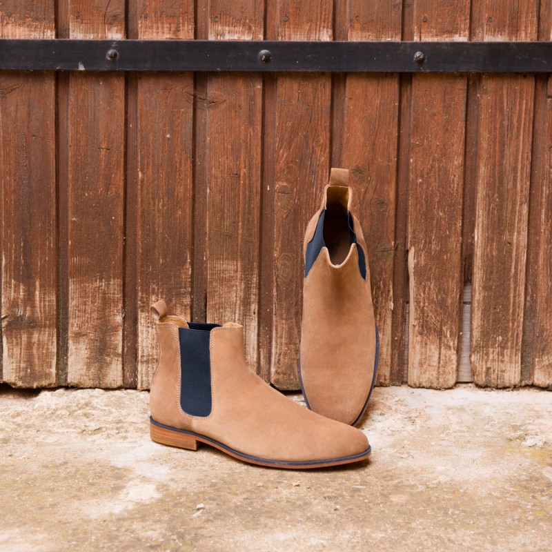 Chelsea Boots : L'Artificier - Antelope