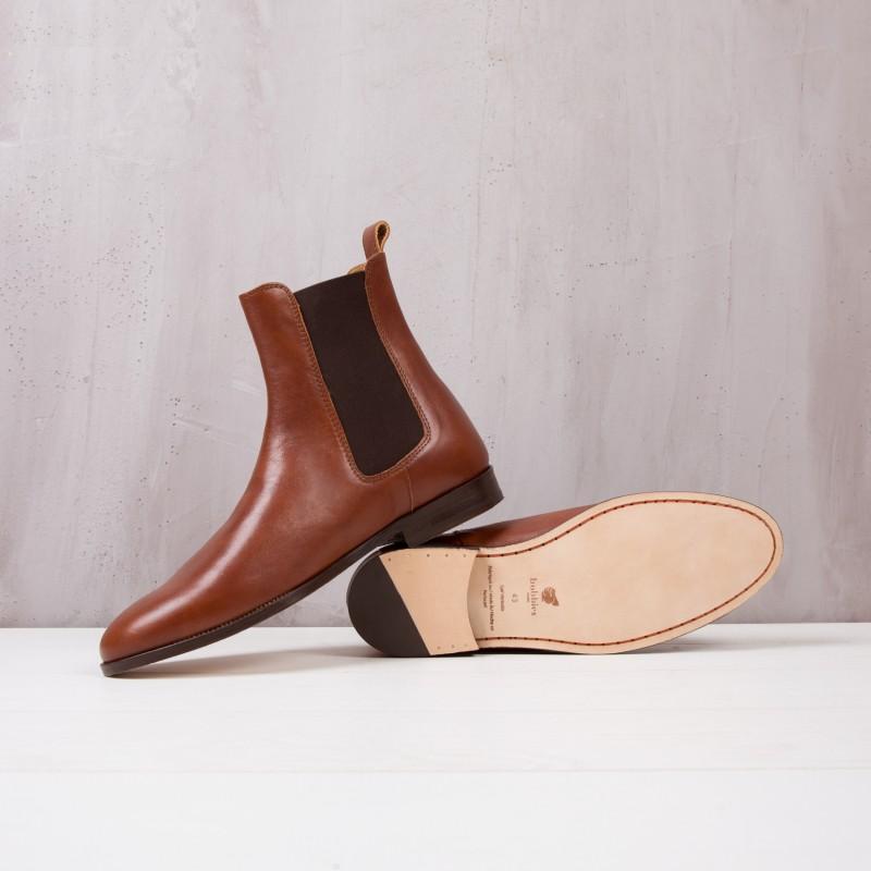 Chelsea Boots : Le Romanesque - Coñac
