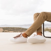Sneakers : Le Baratineur - Blanc