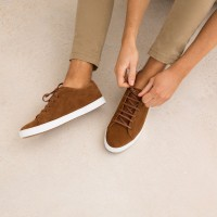 Sneakers : Le Baratineur - Brun Camel