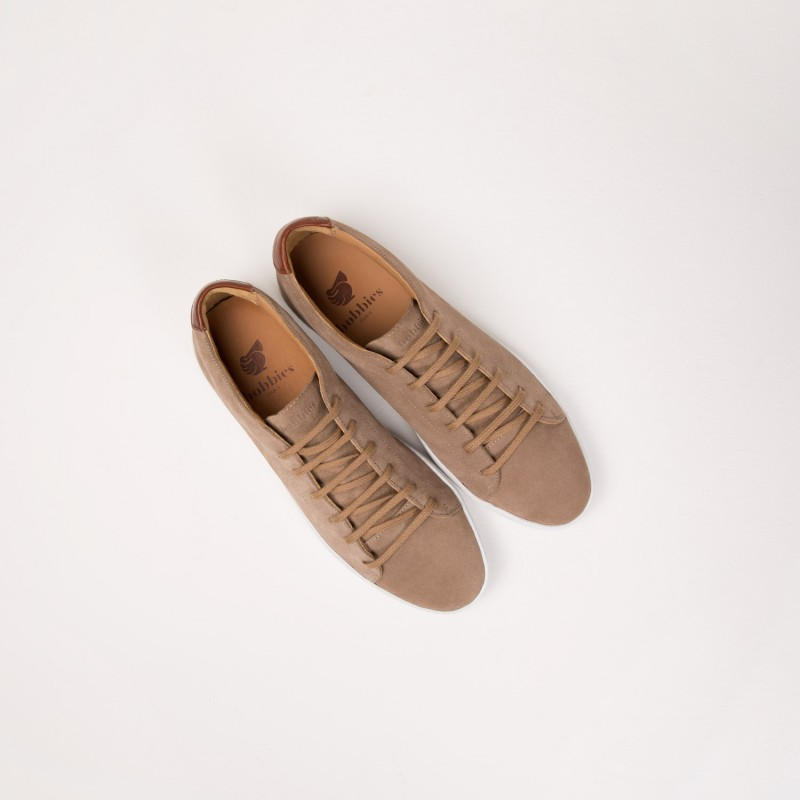 Sneakers : Le Baratineur - Taupe Cendré