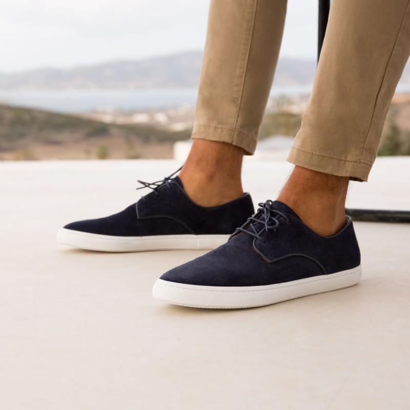 Sneakers : Le Chroniqueur - Bleu Marine