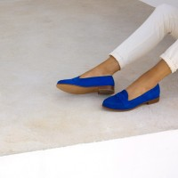 Driving Loafers : La Fille À Papa - Aztek Blue