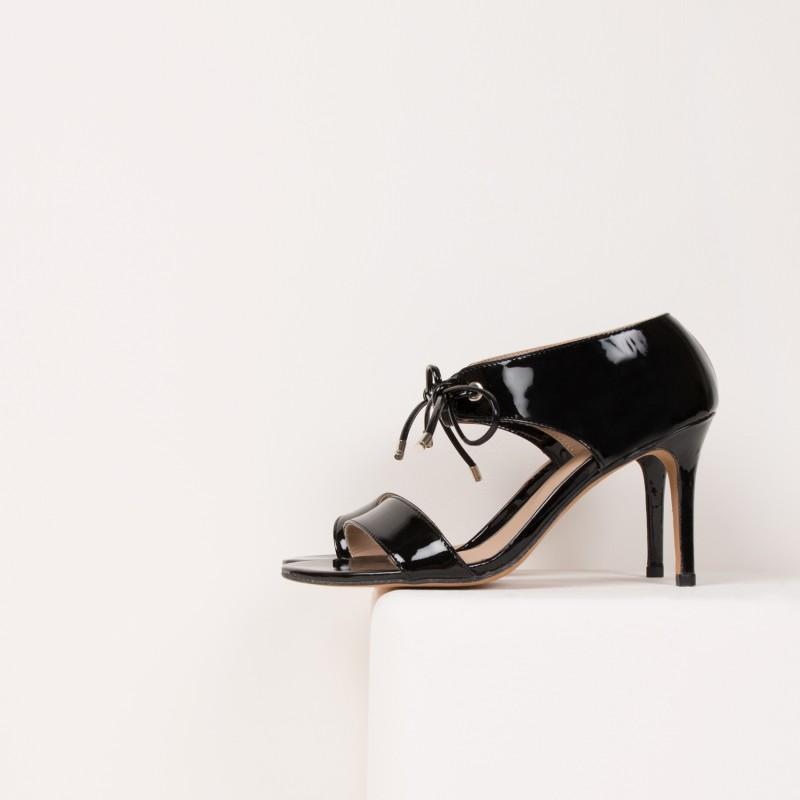 Sandales à Talon : La Java - Noir