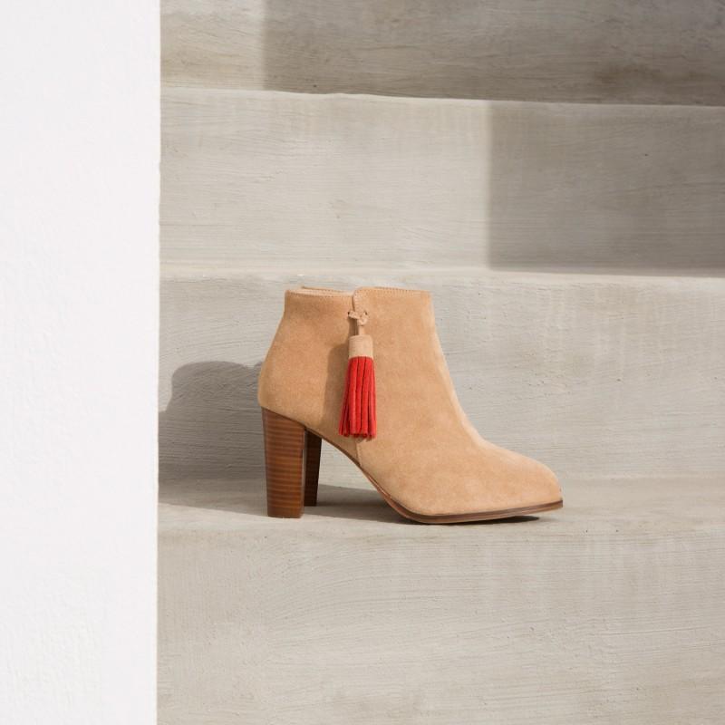 Boots : La Birmane - Sable