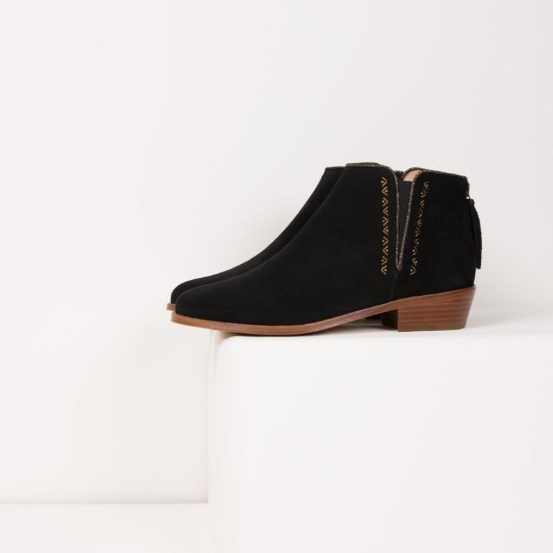 Boots : La Byzantine - Noir