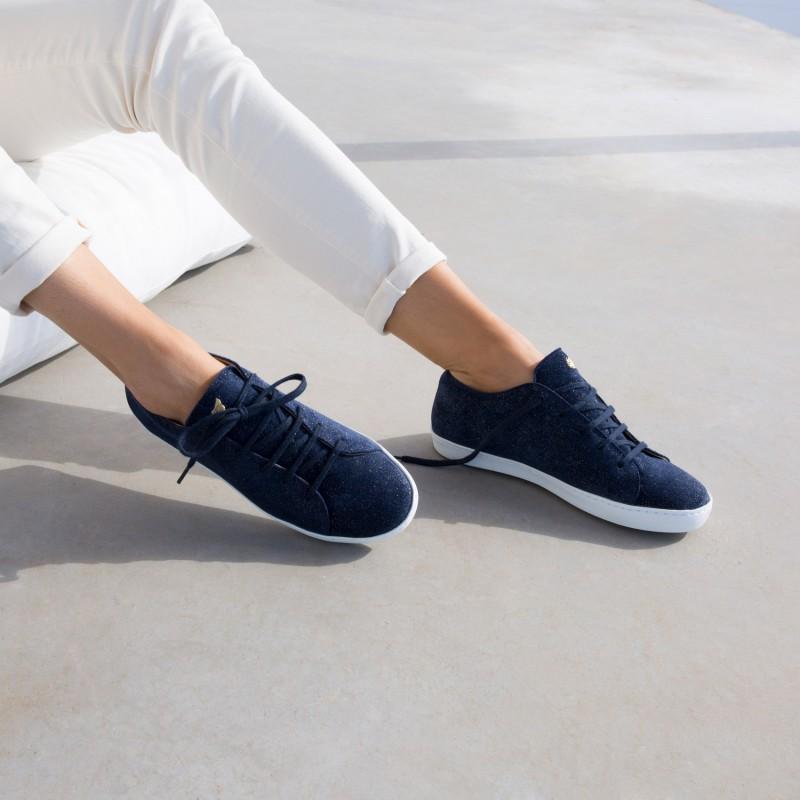 Sneakers : La Tête En L'Air - Marine Étoilé