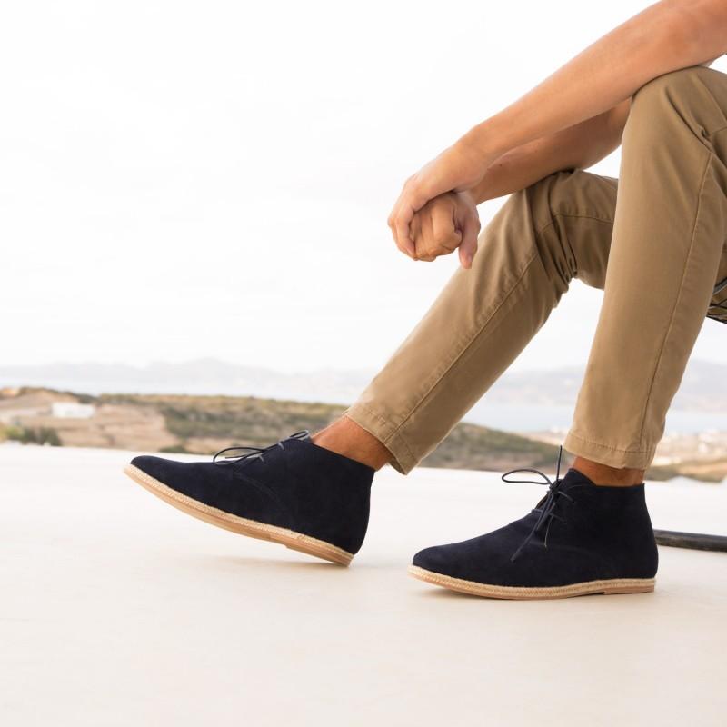 Boots & Bottines : Le Baroudeur - Bleu Marine