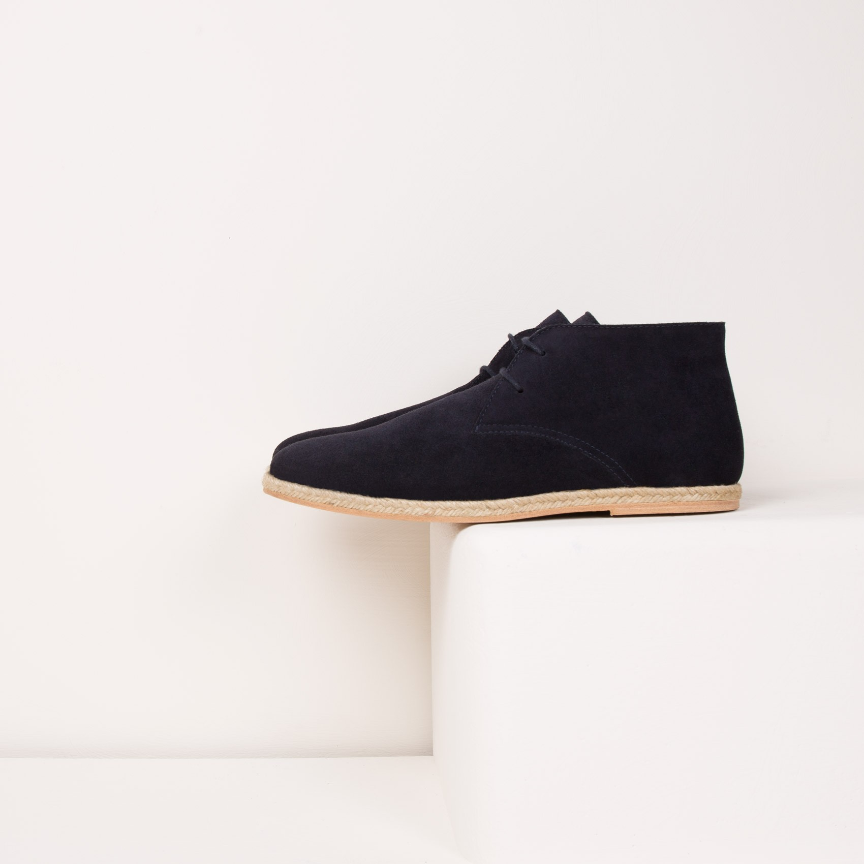 boots bottines bleu marine le baroudeur bobbies. Black Bedroom Furniture Sets. Home Design Ideas