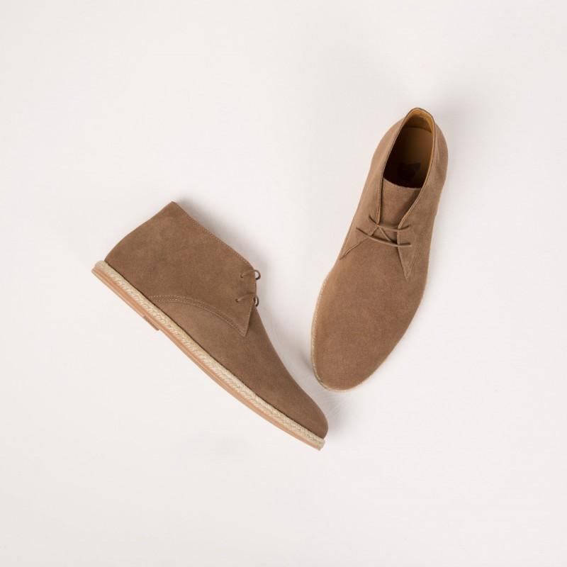 Boots & Bottines : Le Baroudeur - Brun Toundra