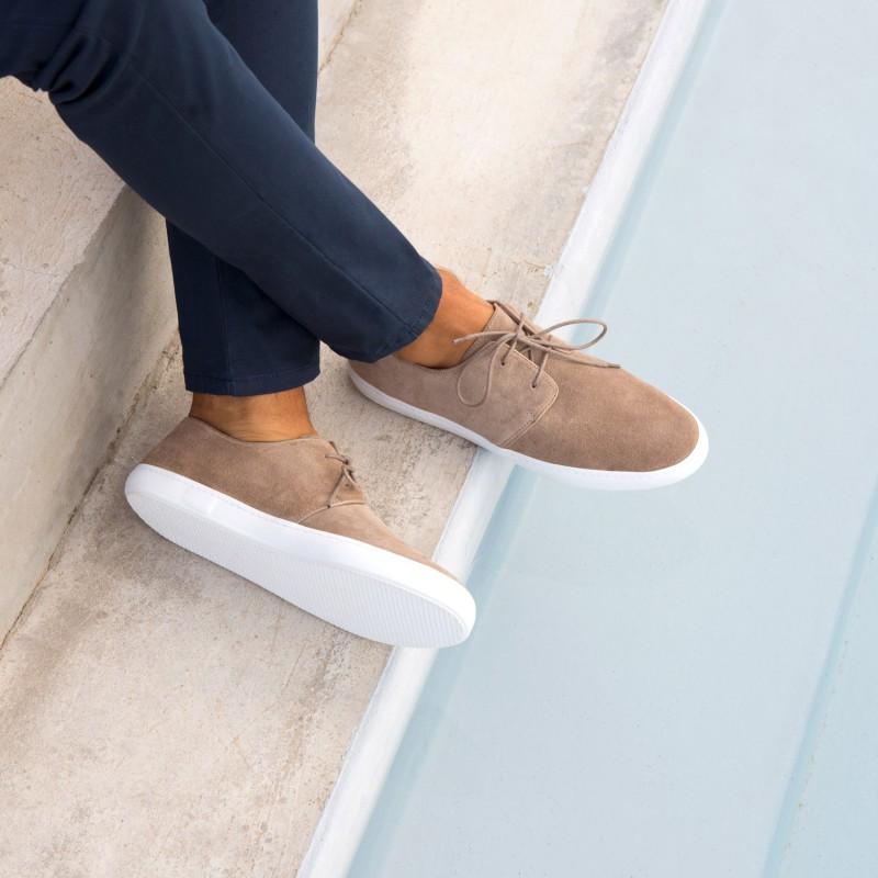 Sneakers : Le Rédacteur - Taupe Cendré