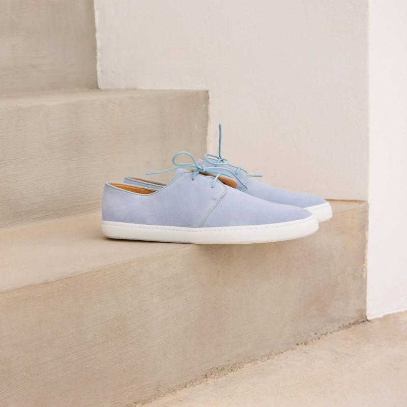 Sneakers : Le Rédacteur - Bleu Azurin
