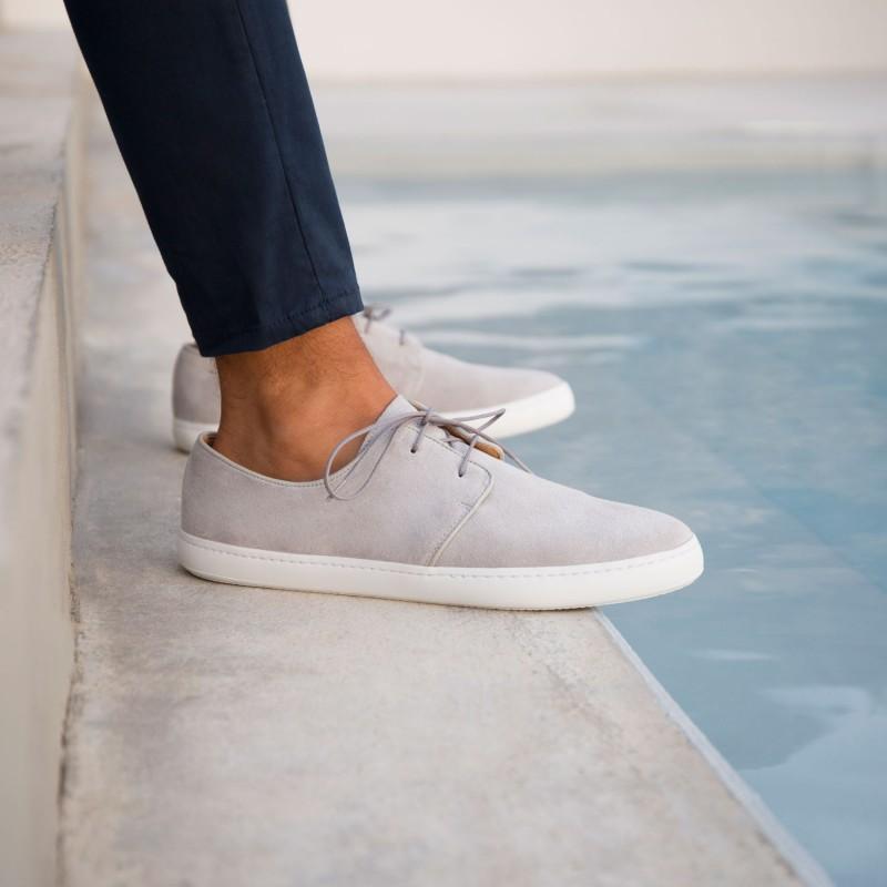 Sneakers : Le Rédacteur - Gris Perle