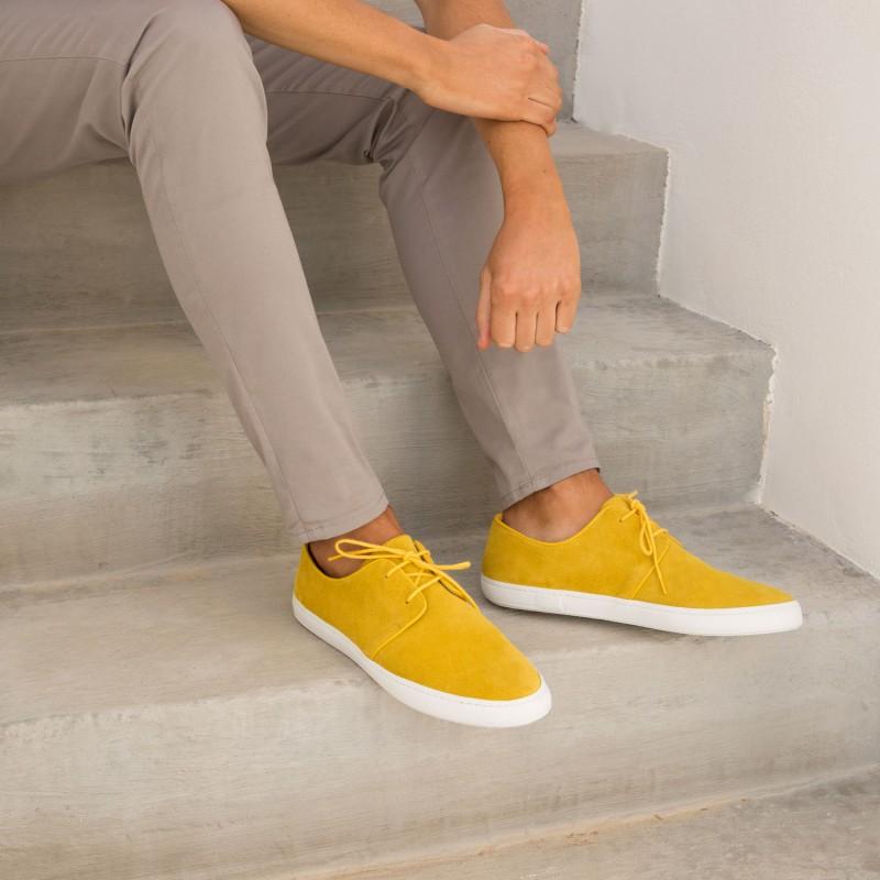 Sneakers : Le Rédacteur - Jaune Orpiment