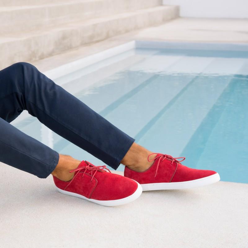 Sneakers : Le Rédacteur - Rouge Anglais
