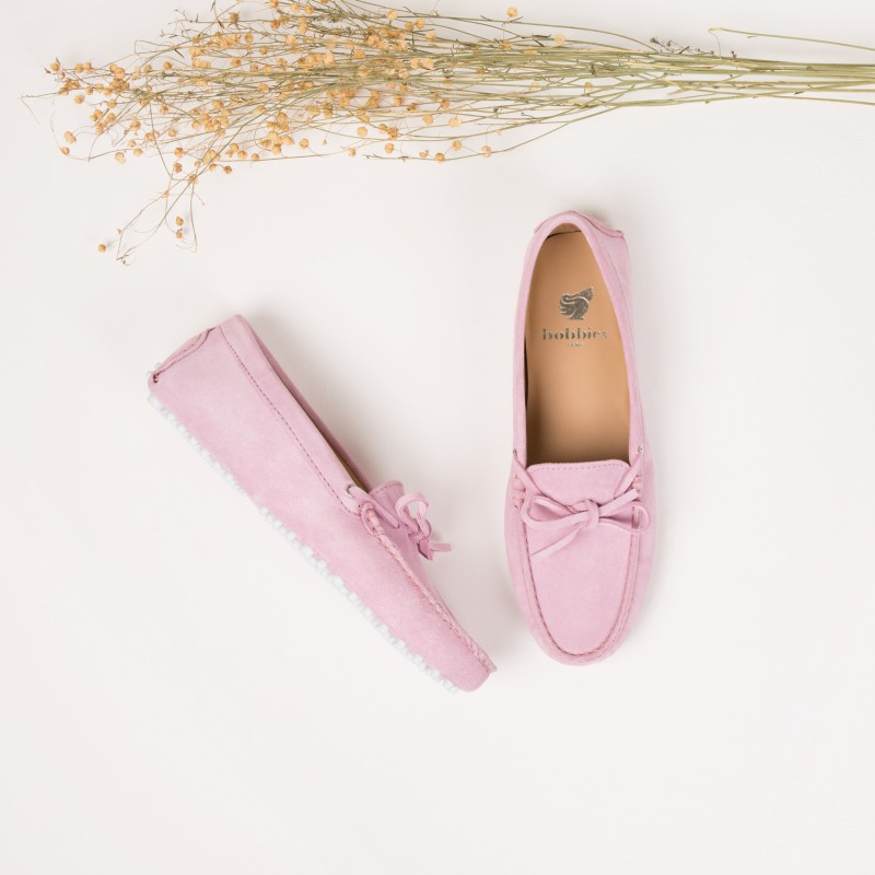 Driving Loafers : L'Amoureuse - Camellia Pink