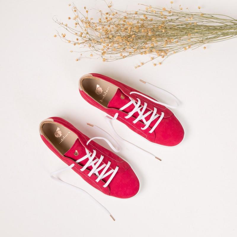 Sneakers : La Vitaminée - Framboise
