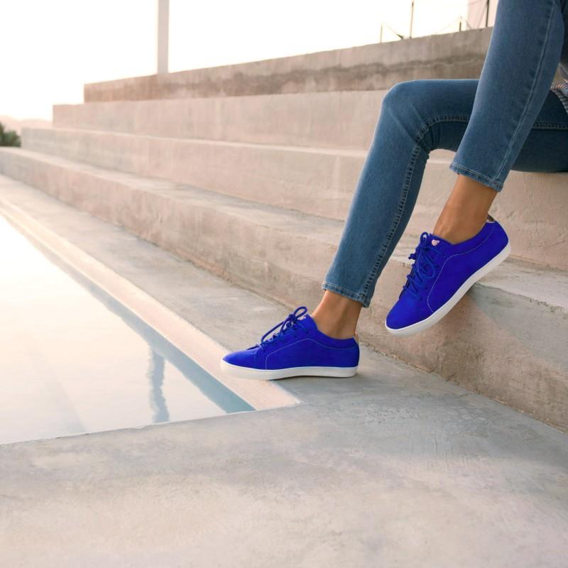 Sneakers : La Vitaminée - Bleu Aztek