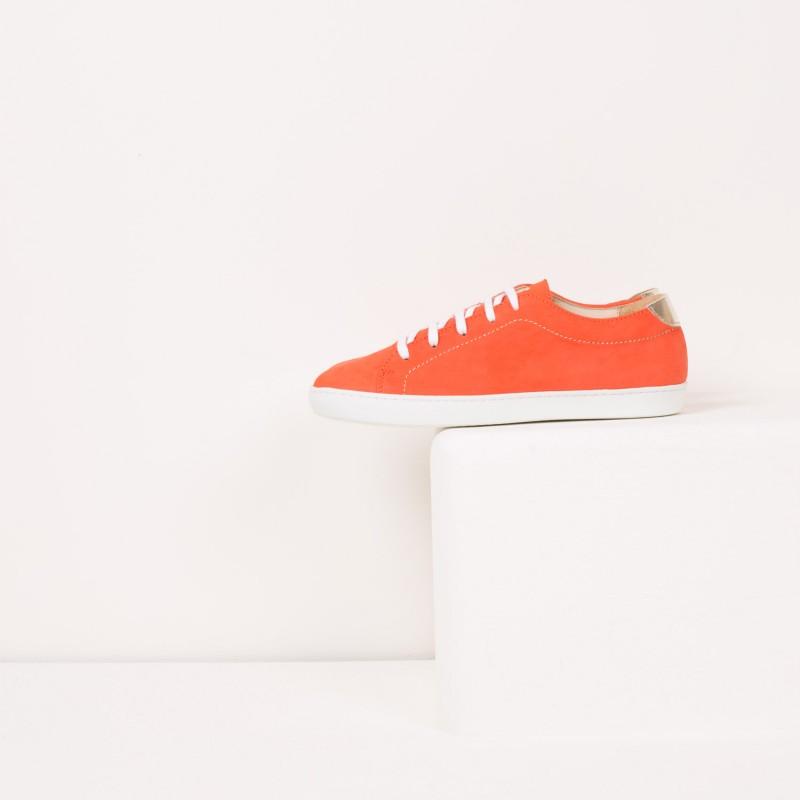 Sneakers : La Vitaminée - Corail