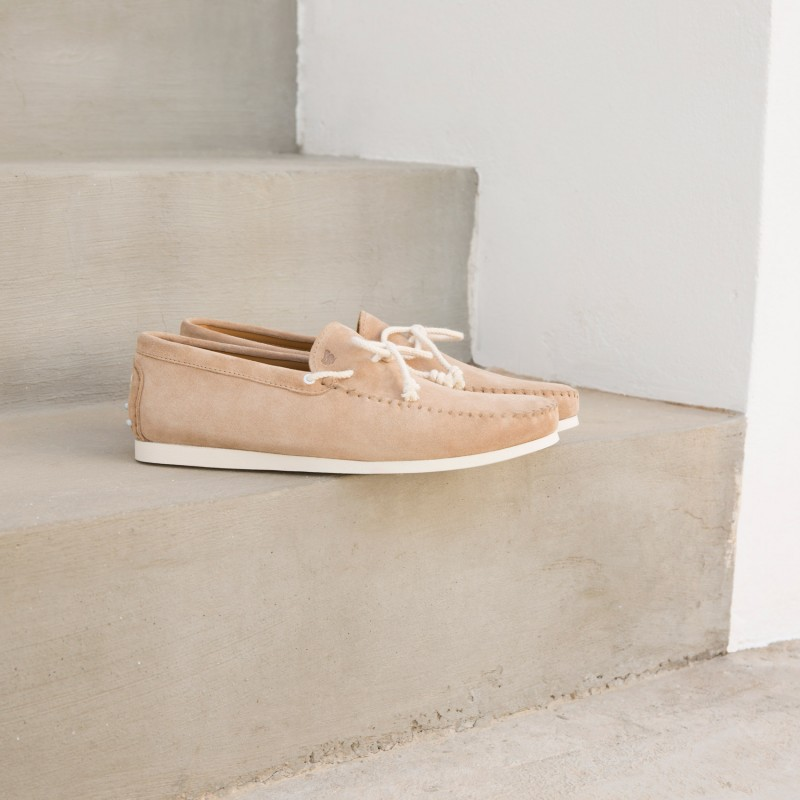 Sneaker Loafers : Le Capitaine - Sable