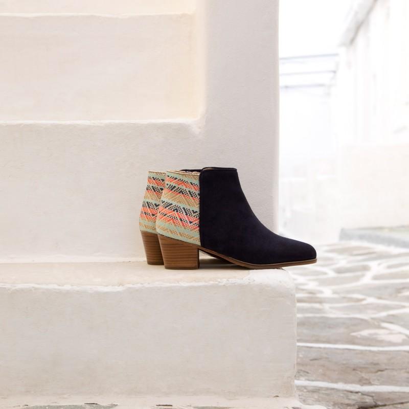 Boots : La Gipsy - Bleu Marine