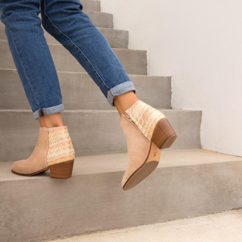 Boots : La Gipsy - Sable