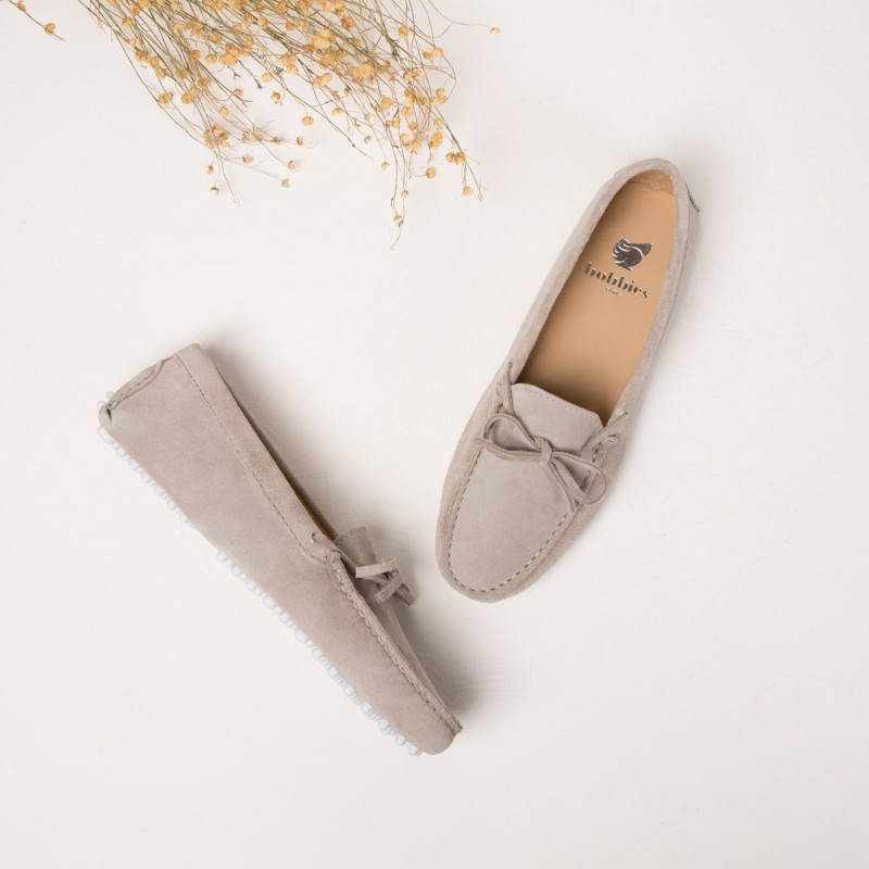 Driving Loafers : L'Amoureuse - Cloud Grey