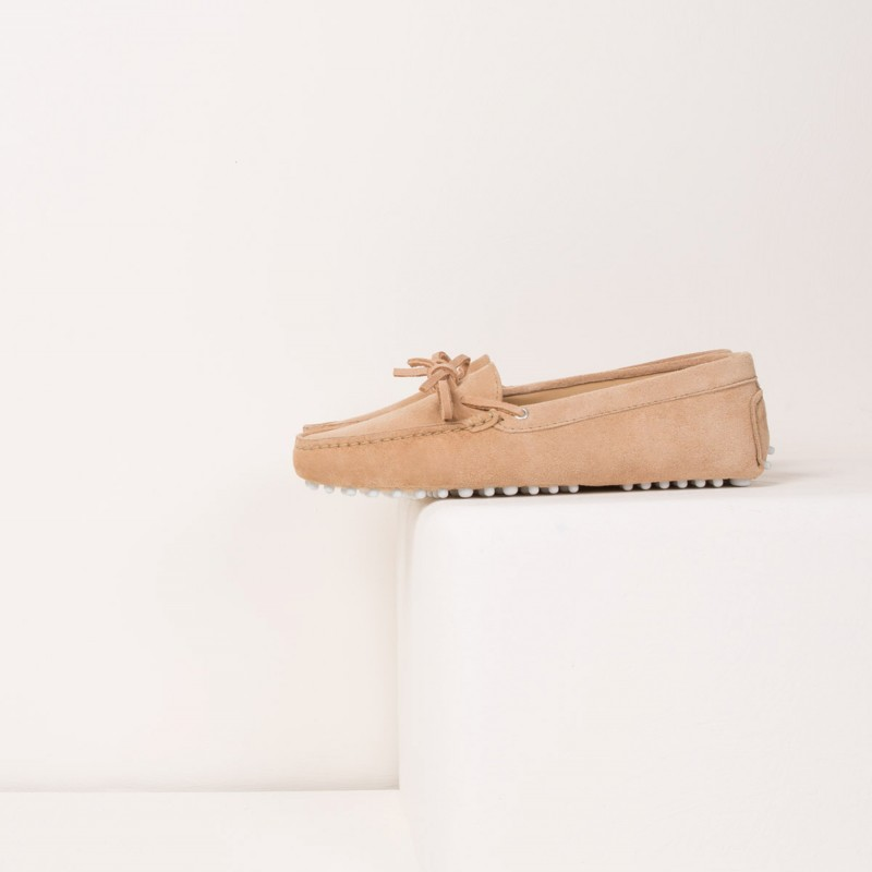 Driving Loafers : L'Amoureuse - Sand