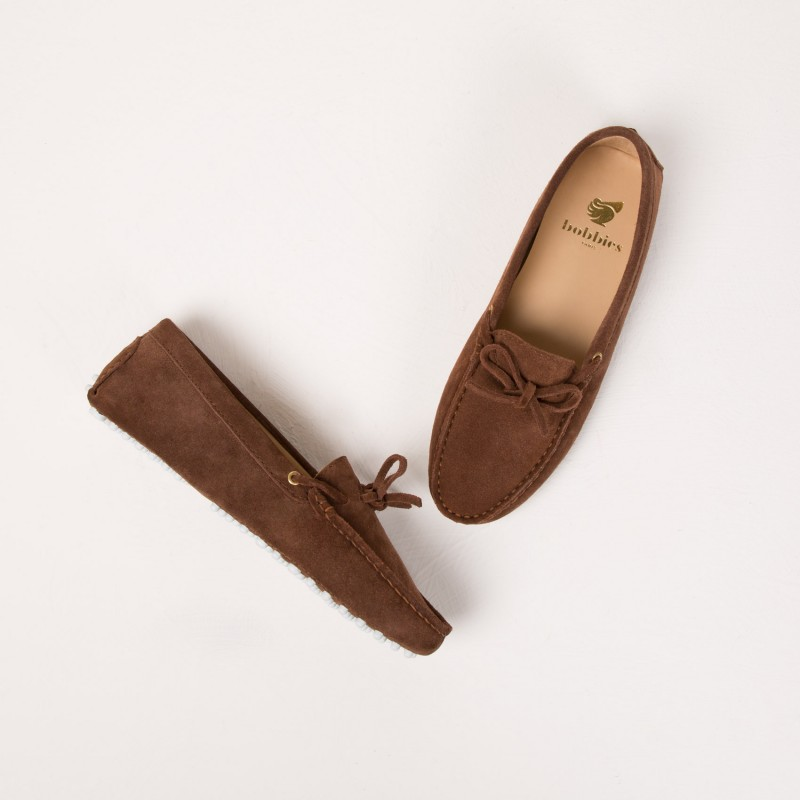 Driving Loafers : L'Amoureuse - Tuscan Brown
