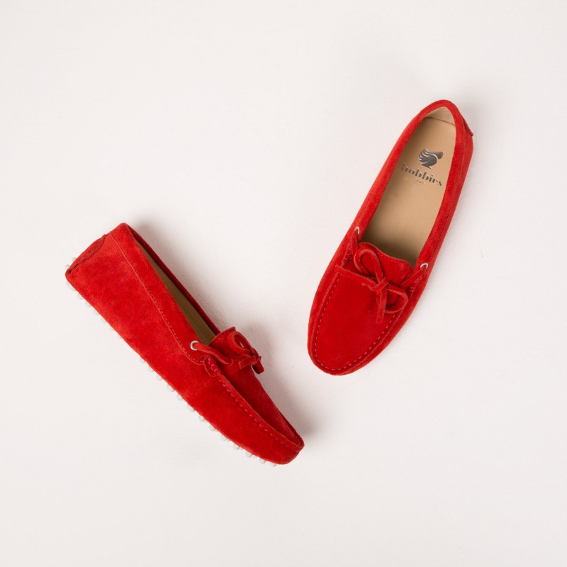 Driving Loafers : L'Amoureuse - Bobbies Orange