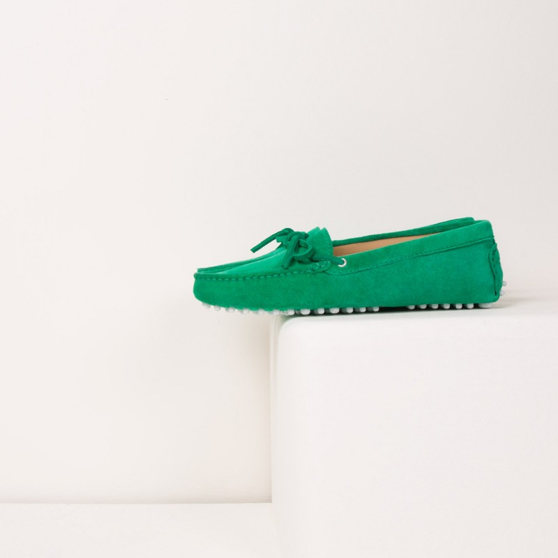 Driving Loafers : L'Amoureuse - Acid Green