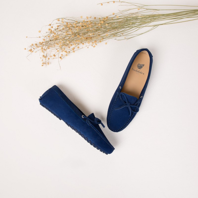 Driving Loafers : La Craquante - Navy Blue