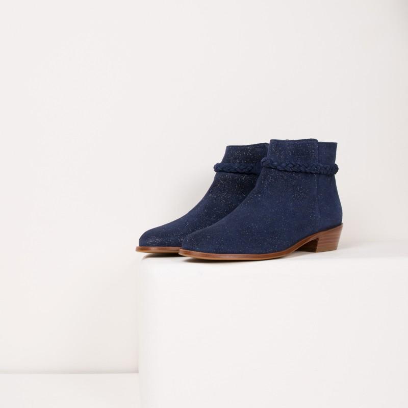 Boots : La Bohémienne - Marine Étoilé