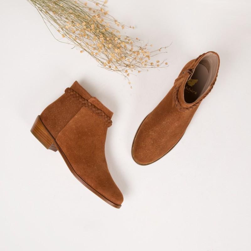 Boots : La Bohémienne - Fauve Étoilé
