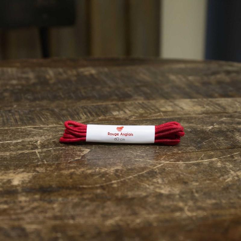 Lacets : Lacet - Rouge Anglais