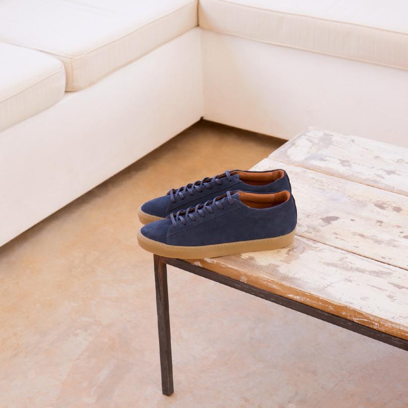 Sneakers Bobbies Bleu Bluffeur Minuit De Le ar6wa4Pq