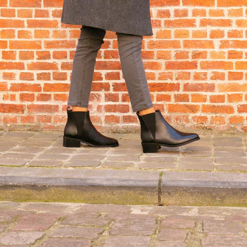 Black Black Intense L'Entêtée Intense Boots L'Entêtée Leather Black Intense Leather L'Entêtée Boots gfy6Yb7