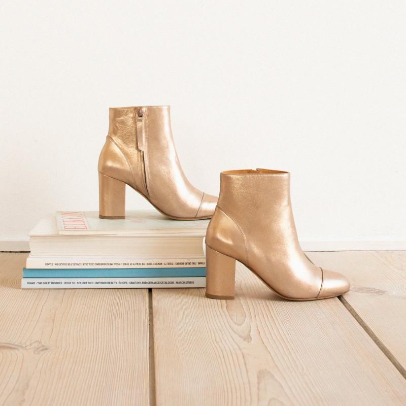 La Mystérieuse Boots à Or talons Cuivré Bobbies VUzqSMjpGL